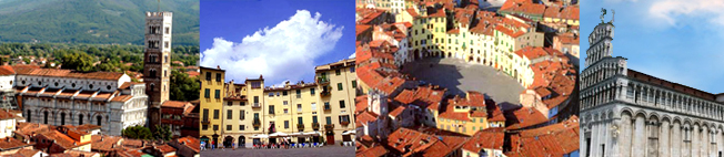 Lucca- typical view